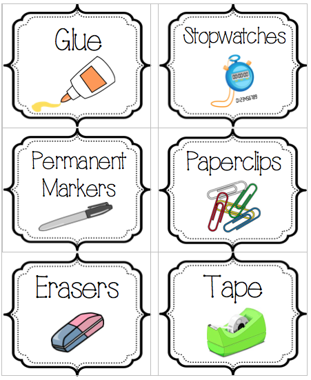 Labels more to organize mrs zimmermans third grade g t new download a blank label template as a microsoft word document so you can make your own supply labels includes the same border and a text box for your pronofoot35fo Images